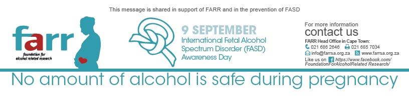 No amount of alcohol is safe during pregnancy, says FARR SA