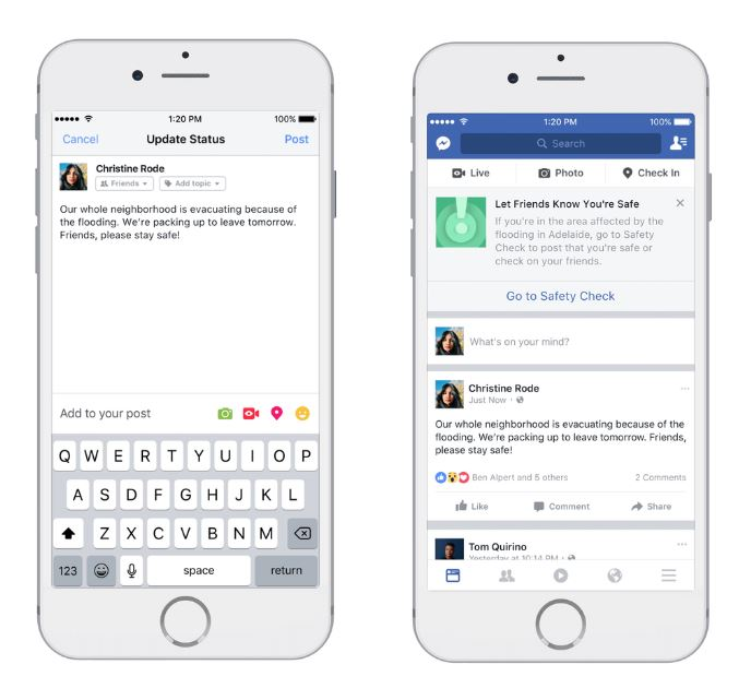 Facebook to replace your weather app
