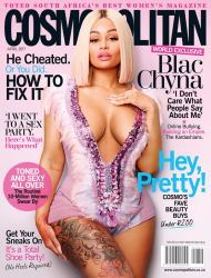 <i>Cosmopolitan South Africa</i> secures world exclusive with Blac Chyna