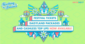 New accommodation and cashless system to feature at <i>Rocking the Daisies</i> 2017