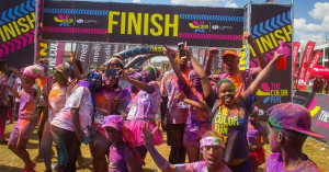 The Color Run starts off this April with its Superhero Tour in Soweto