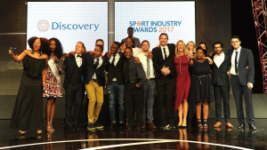 Levergy wins at the <i>Discovery Sport Industry Awards</i>