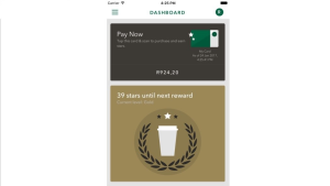 SWARM supports Starbucks Rewards SA