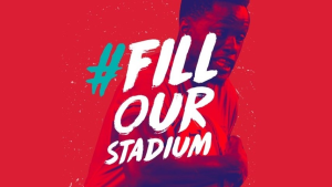 Boomtown's #filledourstadium campaign proves succesful