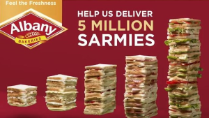 Albany Bakeries launches its '5 Million Meals' campaign
