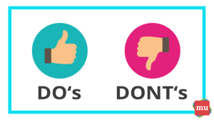 10 Do's and don'ts of PR