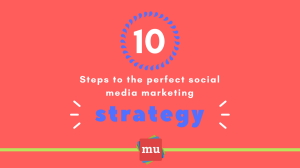 Infographic: 10 steps to the perfect social media strategy