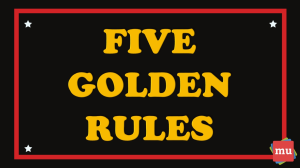 Five golden rules for creating exceptional content