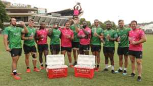 The Cell C Sharks partners with Thirsti Water