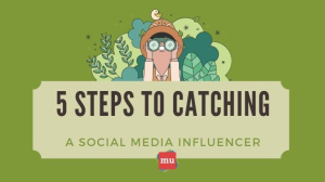 Infographic: Five steps to catching a social media influencer