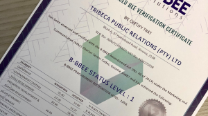 Tribeca PR retains Level 1 B-BBEE rating