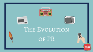 How the last two decades have changed the PR industry