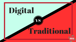 Infographic: Traditional versus digital PR: Which one takes the cake?