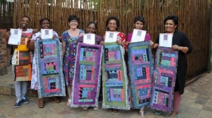 Clover Mama Africa improves its Mamas' quilting skills