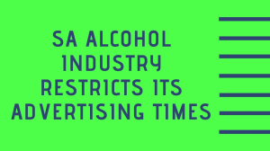 SA alcohol industry restricts its advertising times
