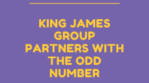 King James Group partners with The Odd Number