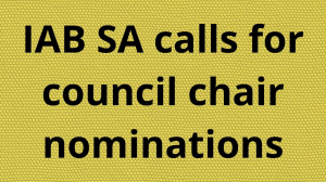 IAB SA calls for council chair nominations