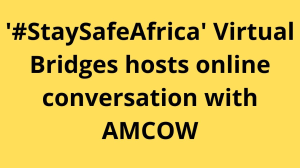 '#StaySafeAfrica Virtual Bridges' hosts online conversation with AMCOW