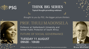 PSG announces new speakers for its <i>Think Big</i> webinar series