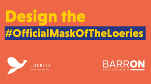 <i>Loeries</i> and Barron launch '#OfficialMaskOfTheLoeries' competition
