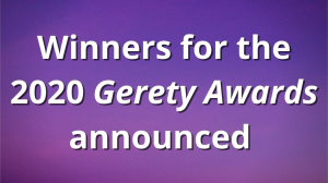 Winners for the 2020 <i>Gerety Awards</i> announced