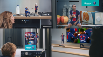 Hisense launches new campaign