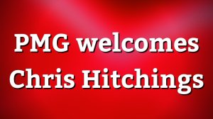 PMG welcomes Chris Hitchings