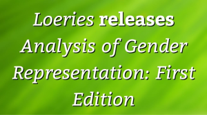 <i>Loeries</i> releases <i>Analysis of Gender Representation: First Edition</i>
