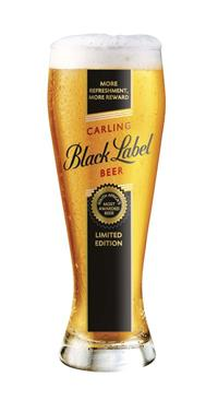 Carling Black Label wins 18th international award