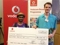 News Article Image for 'immedia wins inaugural <i>Vodacom App Star Challenge</i> award'