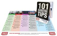 News Article Image for 'Get your 101 marketing tips Z-CARD<sup>®</sup> at the <i>Marketing Indaba</i>'
