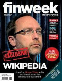 News Article Image for '<i>Finweek</i> interviews Jimmy Wales for its latest edition'