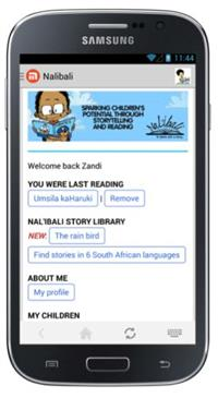 Nal'ibali's new app empowers parents to share stories with their