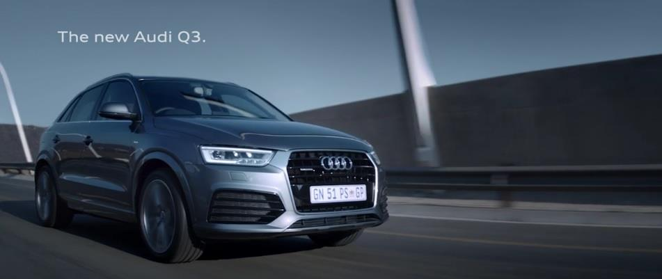Velocity Films\' Rob Malpage directs latest advert for Audi Q3