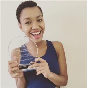 Berita named <i>Music Artist of the Year</i> at the <i>Zimbabwe Achievers Awards</i>