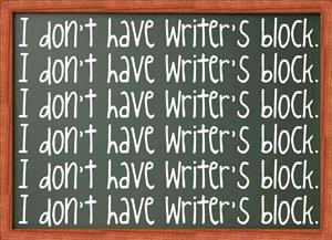 How to get over your writer's block