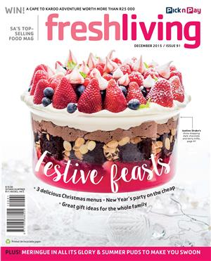 <i>Fresh Living</i> increases print run to half a million per month